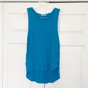 Vans | Blue Open Cut Out Back Tank Top